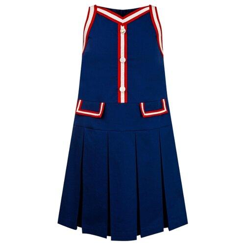 gucci однотонное платье Платье GUCCI размер 140, синий