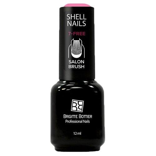 Купить Гель-лак для ногтей Brigitte Bottier Shell Nails, 12 мл, оттенок клубника со сливками