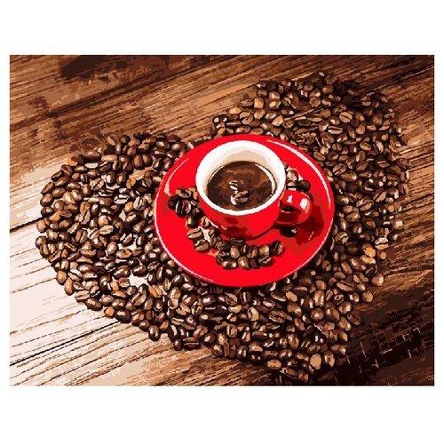 Фото - ВанГогВоМне Картина по номерам Любовь к кофе, 40х50 см (ZX 22277) вангогвомне картина по номерам любовь к кофе 40х50 см zx 22277