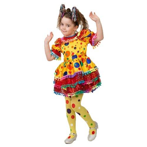 Купить Костюм Батик Хлопушка (5235), желтый, размер 110, Карнавальные костюмы
