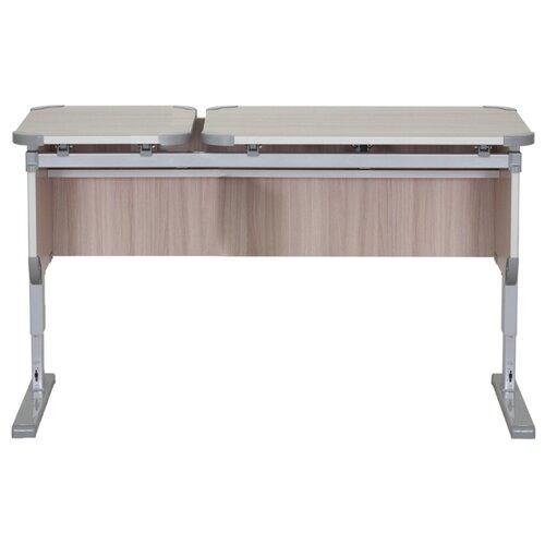 Купить Стол ДЭМИ Ученик СУТ-29 без тумбы 110x50 см ясень/серый, Парты и столы