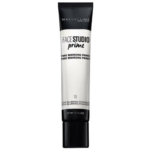 Maybelline основа под макияж Master Prime маскирующая поры 30 мл 10 прозрачная маскирующая косметика dermablend купить