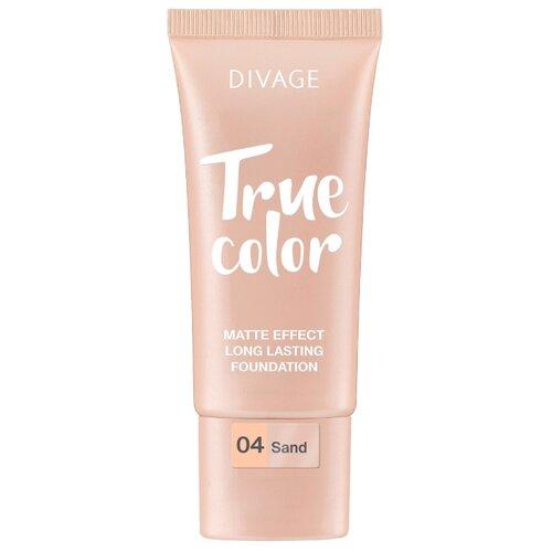 Фото - DIVAGE Тональный крем True Color, 25 мл, оттенок: 04 Sand divage тональный крем foundation luminous 25 мл оттенок 01