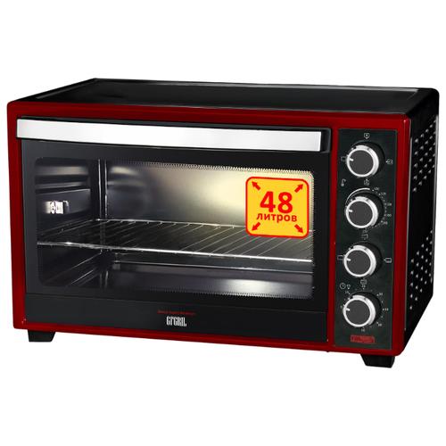 Фото - Мини-печь GFgril GFO-48BR черный/красный мини печь gfgril gfao 500 коричневый