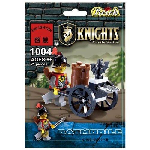 Купить Конструктор Qman Knights 1004 Мобильная установка Летучая мышь , Конструкторы