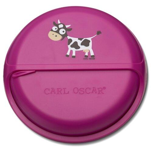 Фото - Carl Oscar Ланч-бокс для перекусов BentoDISC purple термокружка carl oscar click n´sip 0 4 л белый