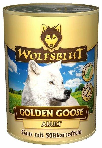 Корм для собак Wolfsblut Консервы Golden Goose (0.395 кг) 1 шт.