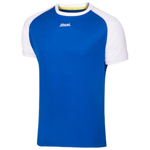 Купить Футболка Jogel JFT-1011 размер YL, синий/белый, Футболки и топы