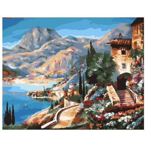 ВанГогВоМне Картина по номерам Средиземноморье, 40х50 см (ZX 21236) вангогвомне картина по номерам осенний вальс 40х50 см zx 21314