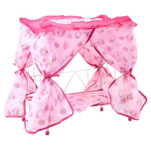 Джамбо Тойз Кроватка (JB600016) розовый недорого
