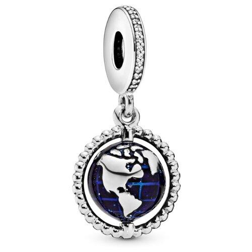 PANDORA Подвеска-шарм Вращающийся глобус 798021CZ недорого
