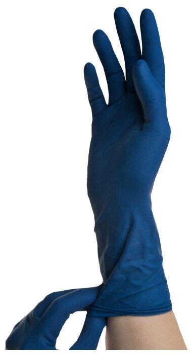 Перчатки смотровые SFM High-risk Latex повышенной прочности