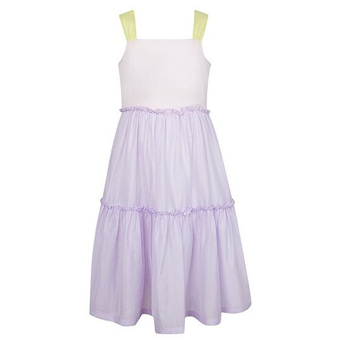 Платье Il Gufo размер 92, сиреневый/розовый