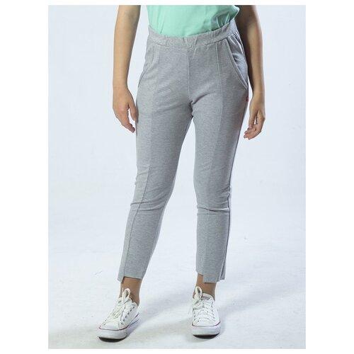 Купить Спортивные брюки Nota Bene размер 140, серый меланж, Брюки
