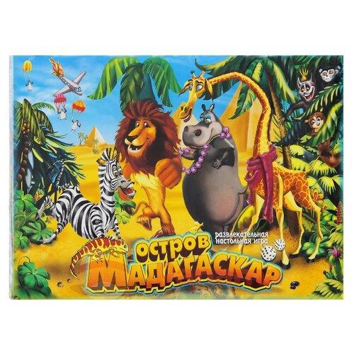 Купить Настольная игра Danko Toys Остров на Мадагаскар, Настольные игры