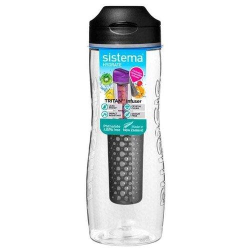 Фото - Бутылка для воды Tritan Infuser (800 мл), цвета в ассортименте 660 Sistema бутылка для воды tritan active 600 мл цвета в ассортименте 640 sistema