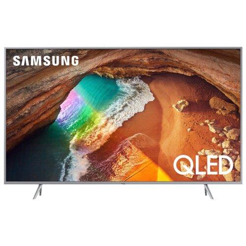 Купить Телевизор QLED Samsung QE55Q67RAU 55 (2019) матовый серебристый
