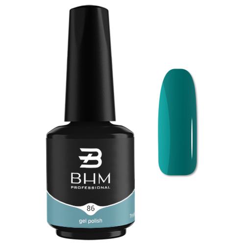 Гель-лак для ногтей BHM Professional Gel Polish, 7 мл, оттенок №086 Frozen Mint гель лак для ногтей bhm professional gel polish 7 мл оттенок 135