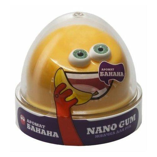 Купить Жвачка для рук NanoGum аромат банана 50 гр (NGAB50), Игрушки-антистресс