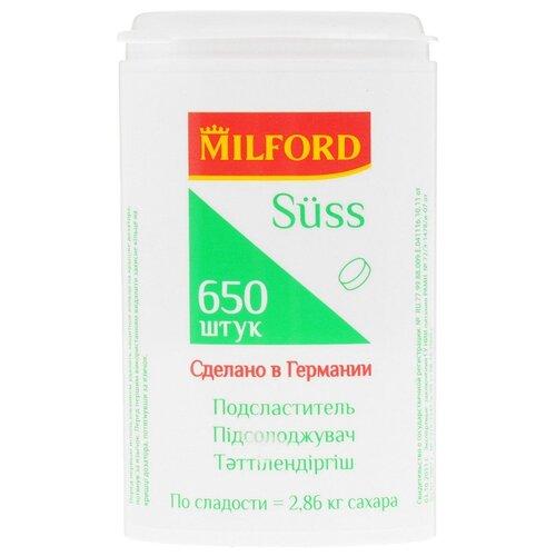 Milford Подсластитель Suss таблетки 1 шт. 650 шт.
