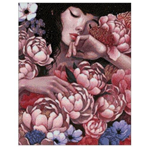 Купить Гранни Набор алмазной вышивки Цветочный сон (Ag 045) 38х48 см, Алмазная вышивка