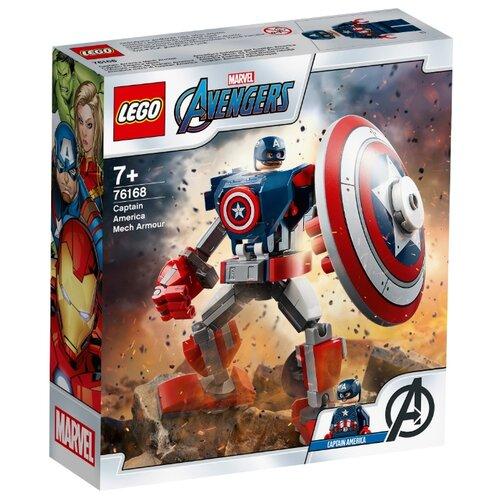 Купить Конструктор LEGO Marvel Super Heroes 76168 Капитан Америка: Робот, Конструкторы