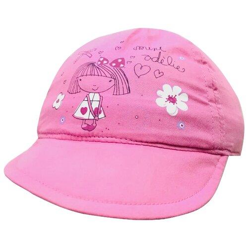 Купить Бейсболка Be Snazzy размер 46, темно-розовый, Головные уборы