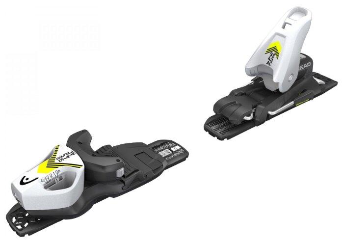 Горнолыжные крепления Head SLR 4.5 GW AC BRAKE 80 [I] solid white/black/flash yellow (2020)