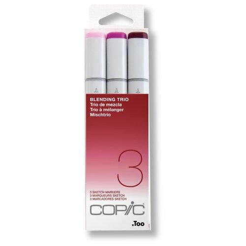 Купить COPIC набор маркеров Sketch Blending Trio 3 (H21075633), 3 шт., Фломастеры