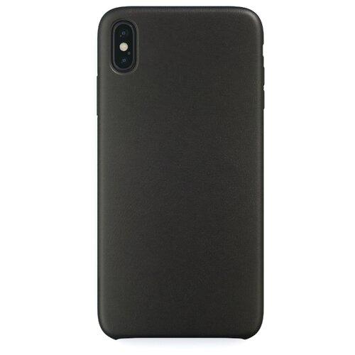 Чехол-накладка uBear Capital Leather для Apple iPhone Xs Max black фото