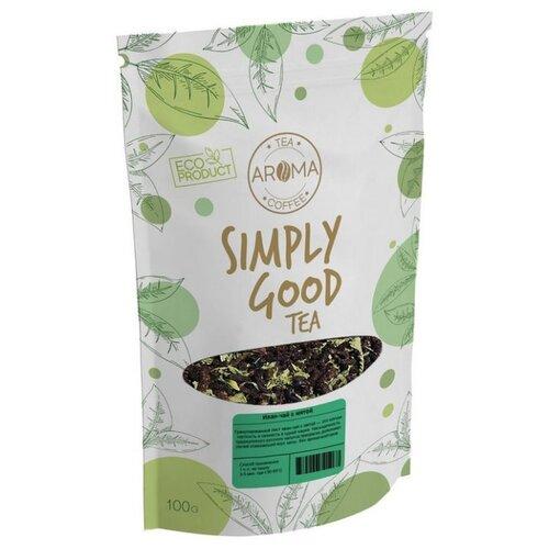 Чай травяной Aroma Иван-чай с мятой, 100 г чай травяной aroma иван чай с ягодами и листом черной смородины 100 г