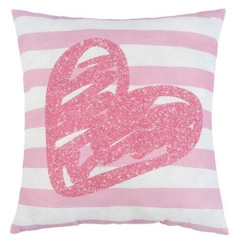 Подушка декоративная Крошка Я Сердце 40 х 40 см розовый подушка декоративная villa bianca сердце love 30 26 10 см