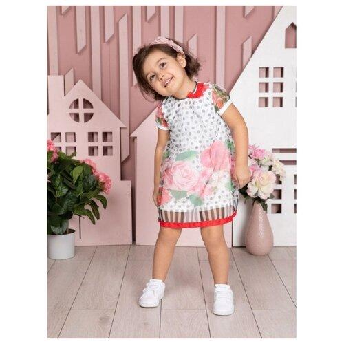 Купить Платье Трия размер 68-74, экрю, Платья и юбки