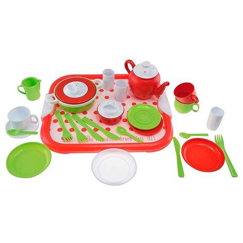 Набор посуды Gowi 454-21 красный набор gowi 558 34 куличик