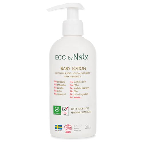Купить Naty Детский лосьон с алоэ вера и органическими маслами, 200 мл, Уход за кожей