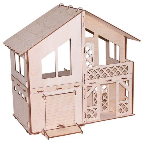 Сборная модель PAREMO Я дизайнер. Дачный домик с гаражом PD218-07