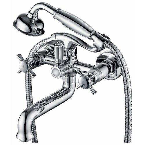 Душевой набор (гарнитур) KAISER Cross 41022 хром душевой гарнитур kaiser zinger без смесителя хром 35482