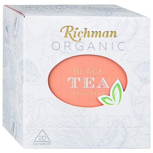 Чай черный Richman Organic FBOP в пирамидках , 20 шт. фото