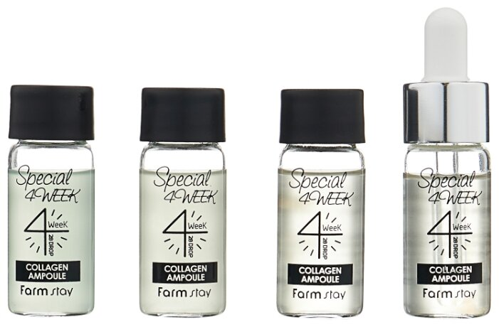 Farmstay Special 4 Week Collagen Ampoule Курс