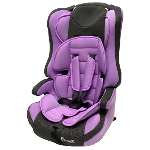 Автокресло группа 1/2/3 (9-36 кг) Carmella 513 RF, lilac/black dot группа 1 2 3 от 9 до 36 кг carmella 513 rf и protectionbaby защитная накидка на спинку переднего сиденья автомобиля