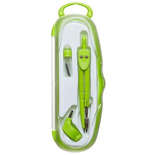 Купить Attache Готовальня Selection Emotion SC22003C 3 предмета (382375) зеленый, Чертежные инструменты