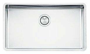 Врезная кухонная мойка smeg VSTR71-2 75х44см нержавеющая сталь