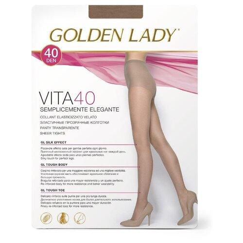 Колготки Golden Lady Vita, 40 den, размер 3-M, playa (бежевый) колготки golden lady vely 40 den размер 3 m playa бежевый
