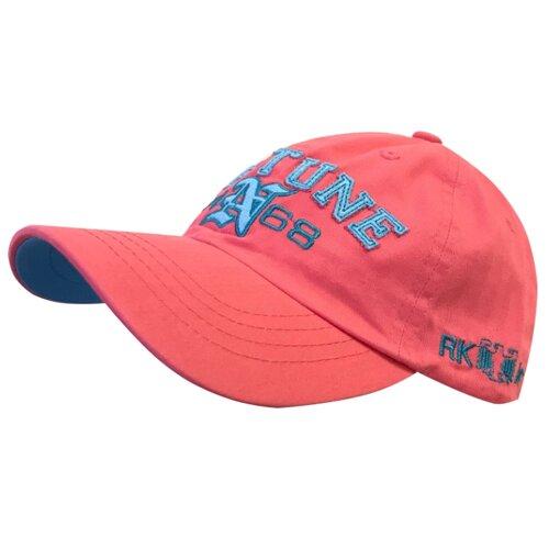 Купить Бейсболка Be Snazzy размер 54-56, коралловый, Головные уборы
