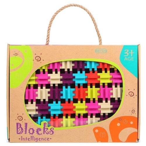 Купить Конструктор Наша игрушка Blocks Intelligence 9933B Умные кубики, Конструкторы