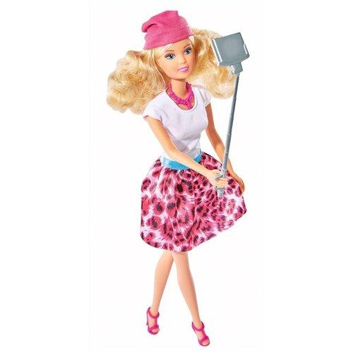 Кукла Steffi Love Штеффи с селфи палкой, 29 см, 5738049