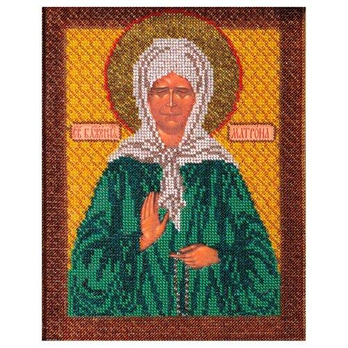 Купить Радуга бисера Набор для вышивания бисером Матрона Московская 20 х 25 см (B-155), Наборы для вышивания