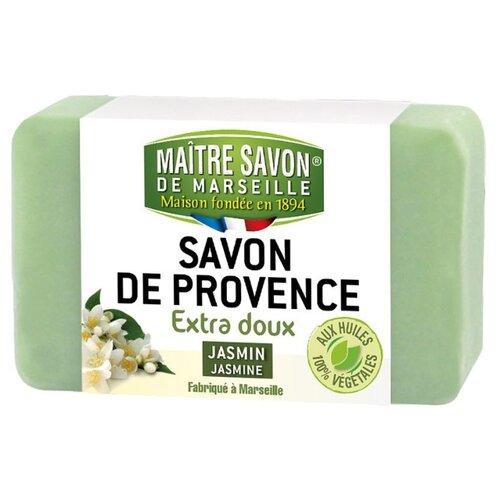 Мыло кусковое Maitre Savon de Marseille Жасмин, 200 г savon de cleopatra бальзам