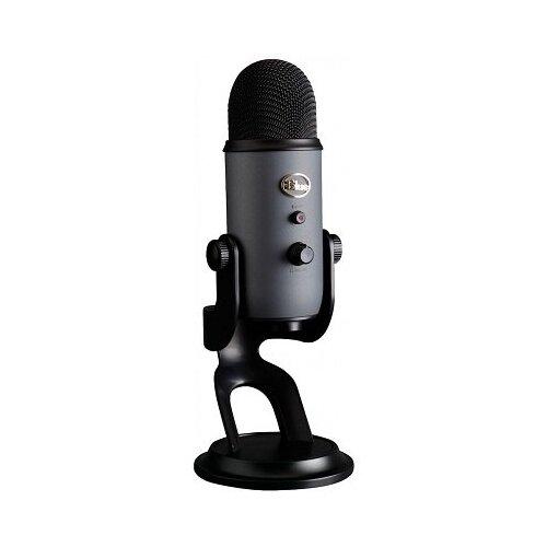 Микрофон Blue Yeti, темно-серый