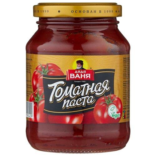 Фото - Дядя Ваня томатная паста, стеклянная банка 270 г дядя ваня закусочка ля прованс 460 г
